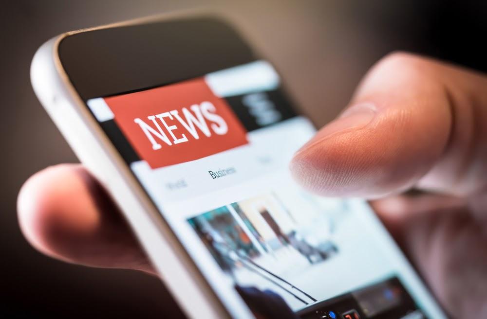 actualité sur smartphone