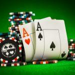 paire d'as et jetons - casino sans dépot