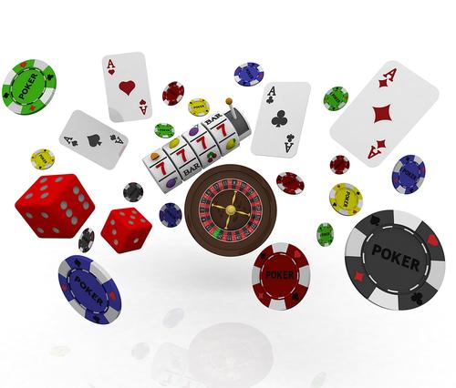 divers jeux de casino