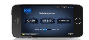 888Poker smartphone