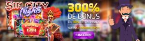 bonus 300% sur mr j casino