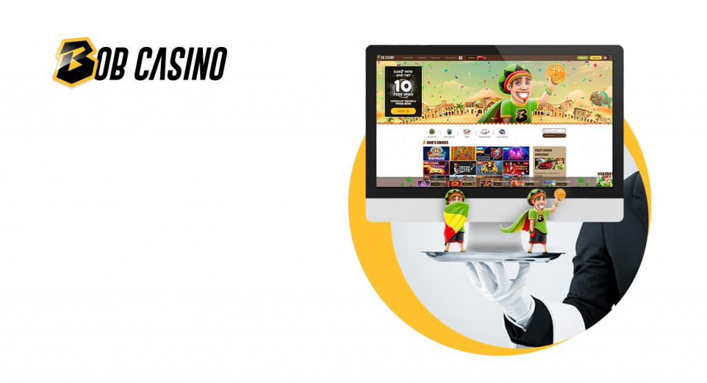 bob casino sur smartphone