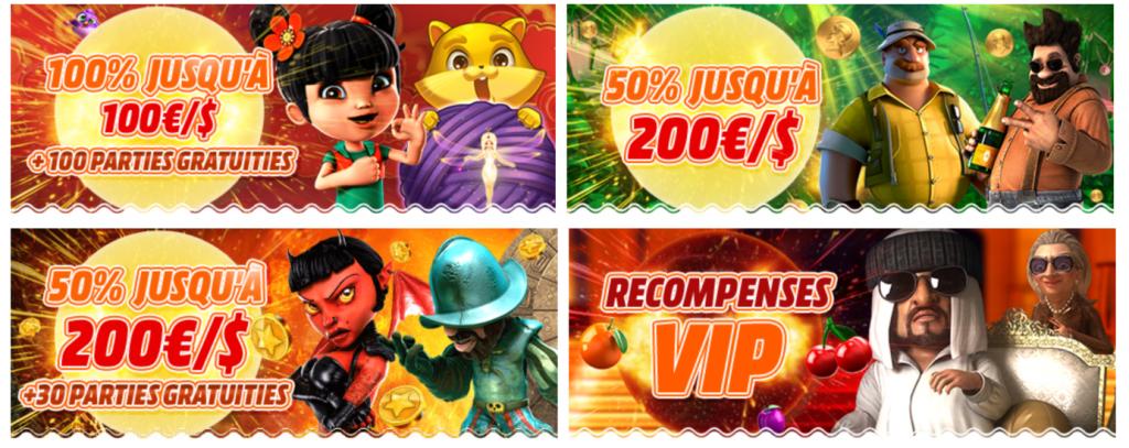promotions bob casino