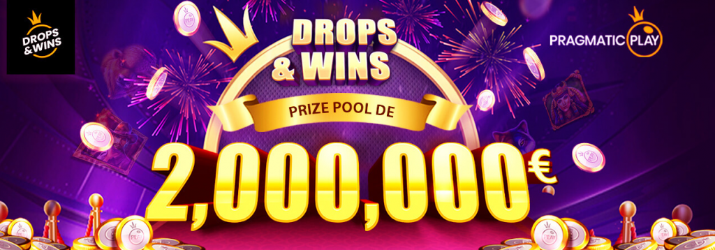 tournoi Drops & Wins avec Pragmatic Play