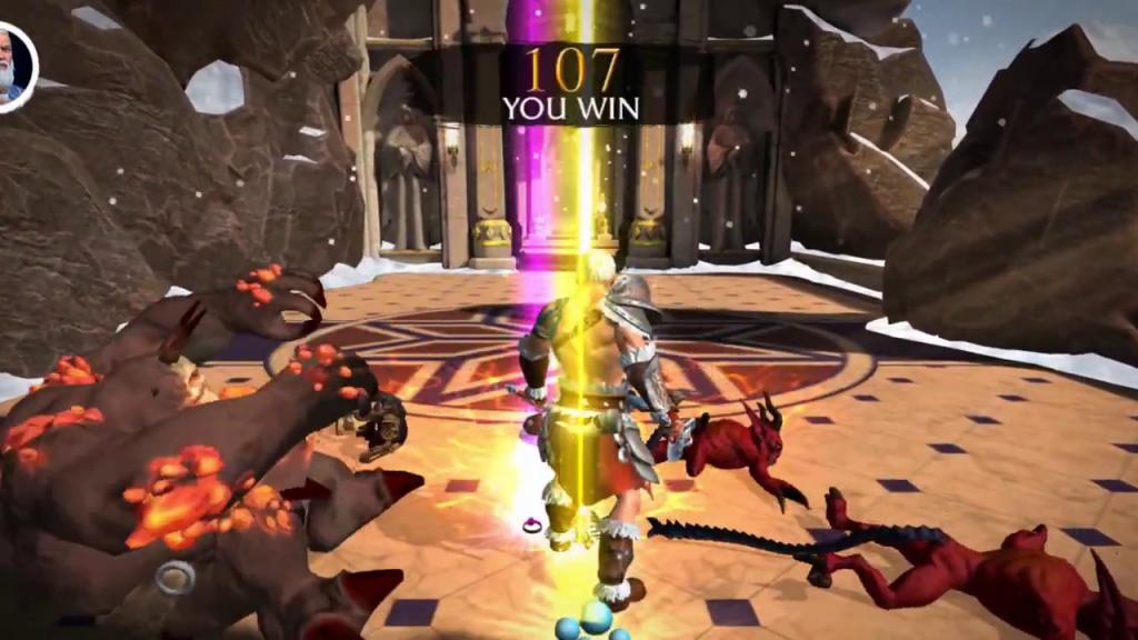 jackpot sur Dungeon Immortal Evil