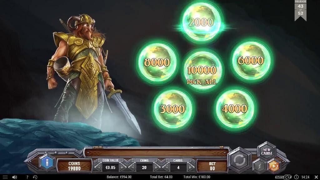 bonus Viking Runecraft Bingo