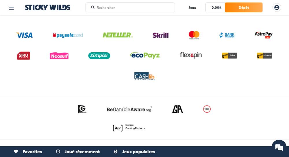 StickyWilds transactions