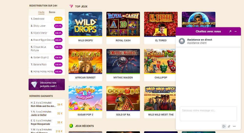 Support Wild Sultan casino