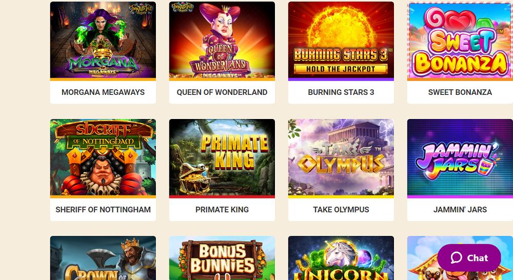 banque de jeux de Wild Sultan Casino