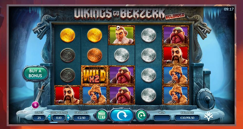 Vikings Go Berzerk Reloaded version amelioree de 2016